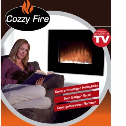 Deko Kamin Cozzy Fire - täuschend echt mit Heizung!