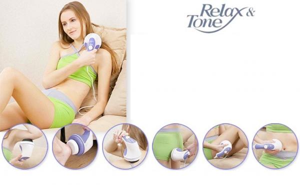 Relax & Tone das 5in1 Massagegerät