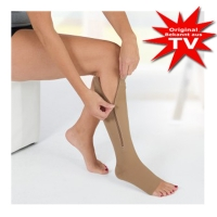 Active Stockings Comfort-plus 1 pair of zippered