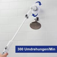 Turbo Scrub Reinigungsbürste  (Set 5tlg.)  inkl. GRATIS Zubehör