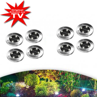 Disk Lights LED-Solarleuchten 8 Stk.