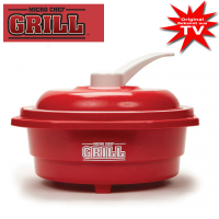 Micro Chef Grill 8in1 rot