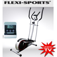 Flexi-Sports crosstrainer with eight steps