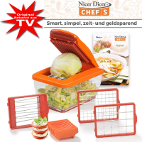 Genius® Nicer Dicer Chef S - Set 8 pieces