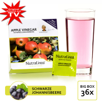 NutraLinea® Apple Vinegar - Cider vinegar 36x Black Currant