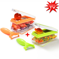 Nicer Dicer Precision Vegetable Cutter Set 10 pcs.