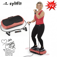 syltfit vibration trainer - presented by Beatrice Egli