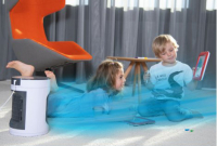 Livington SmartChill schwarz kompakter Luftkühler