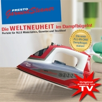 Presto Garment Steamer ALL-IN-ONE steam iron!