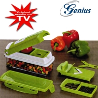 Nicer Dicer smart vegetable cutter in 9pcs. set