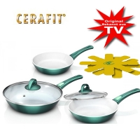 Cerafit Fusion pan set with removable handles !